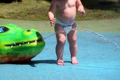 Bebé en el juego Fotos de archivo