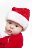 Bebé en el juego del Año Nuevo Fotografía de archivo