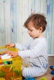 Bebé en el pj Fotografía de archivo libre de regalías