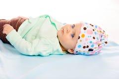 bebé en el sombrero Imagen de archivo libre de regalías