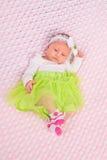 Bebé en equipo lindo Imagenes de archivo