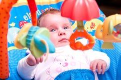 Bebé en horquilla imagen de archivo libre de regalías