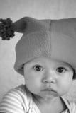 Bebé en sombrero Imágenes de archivo libres de regalías