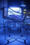 Bebé en un hospital Fotografía de archivo libre de regalías