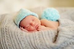 Bebé en un sombrero Imagen de archivo libre de regalías