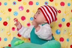 Bebé encantador chino Imágenes de archivo libres de regalías