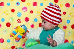 Bebé encantador chino fotografía de archivo