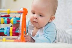 Bebé esperto Imagens de Stock