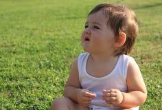 Bebé feliz Imagen de archivo libre de regalías