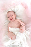 Bebé feliz fotografía de archivo