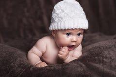 Bebé feliz Foto de archivo libre de regalías