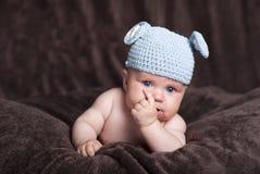 Bebé feliz Fotografía de archivo libre de regalías