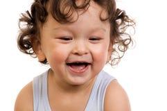 Bebé feliz. Foto de archivo