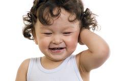 Bebé feliz. Foto de archivo libre de regalías