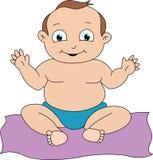 Bebé feliz libre illustration