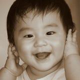 Bebé feliz Foto de Stock Royalty Free