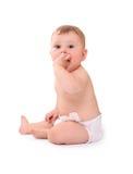 Bebé feliz engraçado Foto de Stock Royalty Free