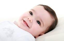 Bebé feliz hermoso Imagen de archivo