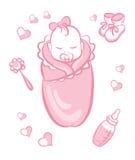 Bebé girl Imagen de archivo