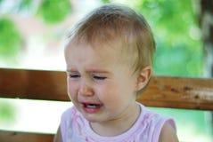 Bebé gritador foto de archivo