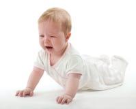 Bebé gritador Fotografía de archivo libre de regalías