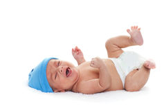 Bebé gritador Imagen de archivo