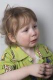 Bebé gritador Fotografía de archivo