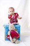 Bebé hermoso Foto de archivo libre de regalías