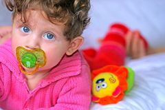 Bebé hermoso Imagen de archivo libre de regalías