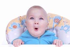 Bebé hermoso divertido Imagenes de archivo