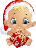 Bebé hermoso en un sombrero Fotografía de archivo libre de regalías