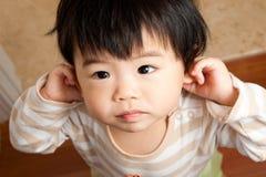Bebé inocente foto de stock