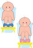 Bebé insignificante stock de ilustración