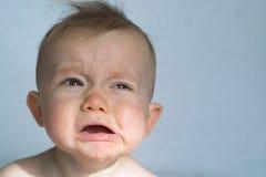 Bebé irritable Fotos de archivo