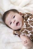 Bebé lindo Fotografía de archivo