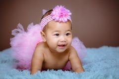 Bebé lindo de la actitud de Asia imágenes de archivo libres de regalías