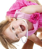 Bebé lindo en el juego Imagen de archivo libre de regalías