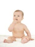 Bebé lindo sorprendido Imagenes de archivo