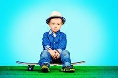 Bebé moderno Imagen de archivo libre de regalías
