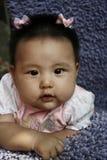 Bebé na cor-de-rosa Foto de Stock