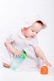 Bebé, niña Fotografía de archivo libre de regalías