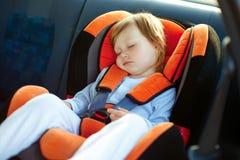 Bebé no carro Fotografia de Stock Royalty Free