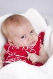 Bebé novo bonito Fotos de Stock