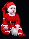 Bebé Papá Noel Foto de archivo libre de regalías