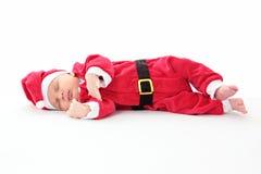 Bebé Papá Noel Fotografía de archivo libre de regalías
