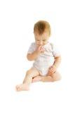 Bebé pensativo Imagens de Stock Royalty Free