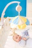 Bebé pequeno na ucha Imagem de Stock