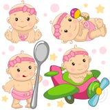Bebé 11 porciones libre illustration