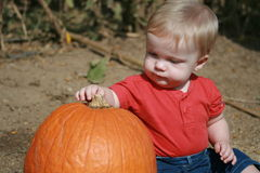 Bebé primer Imagen de archivo