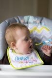 Bebé que es introducido Fotos de archivo